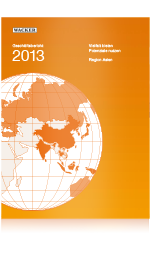 Cover of Wacker's Annual Report 2013