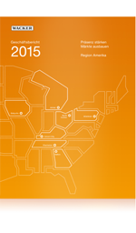 Cover of Wacker's Annual Report 2015